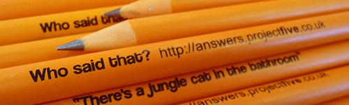 projectfive film quote pencils