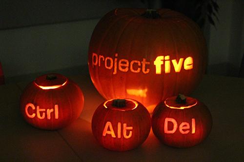 projectfive Halloween Pumpkins