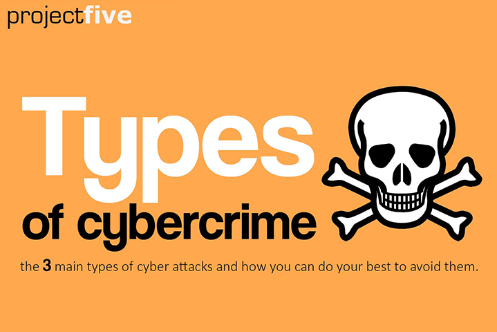 Types of CyberCrime: an infographic   projectfive projectfive