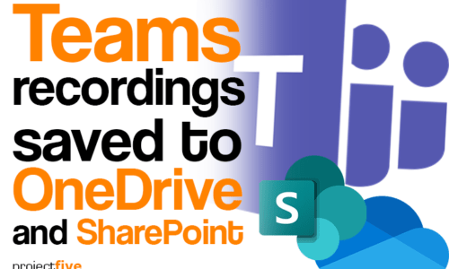 Teams recodings saved to OneDrive and SharePoint